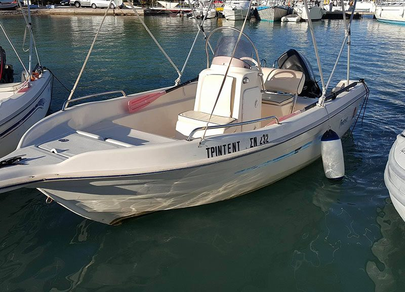 Family (5 people, 4.70m) Trident Boats