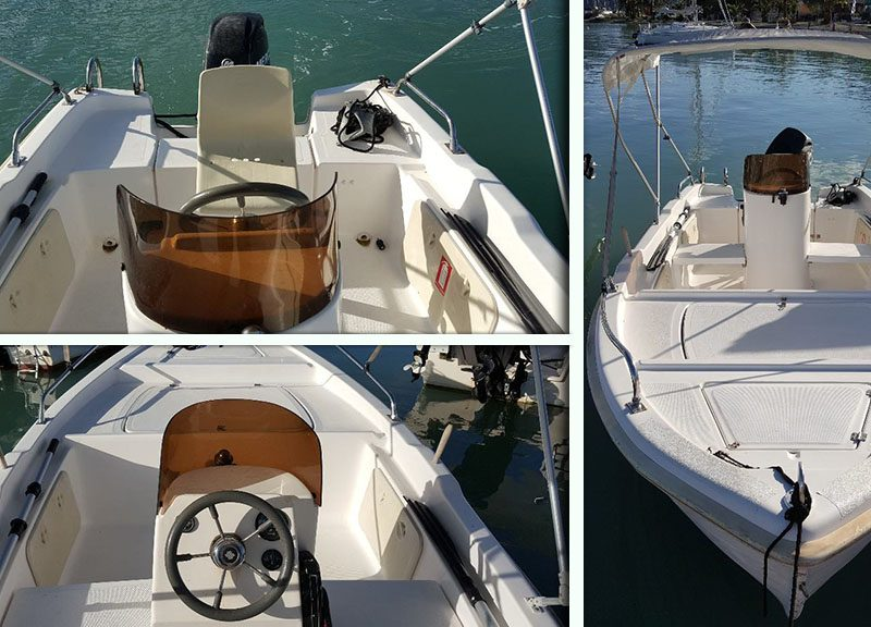 Family XL (8 people, 5.50m ) Trident Boats