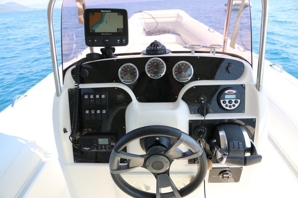 Trident boats Joy 6 Rib rental